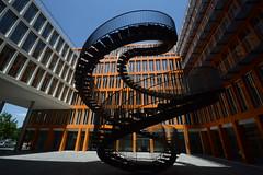 ... (UnprobableView) Tags: manuelmiragodinho unprobableview escaleras escadas staircase treppe escada munich kpmg olafureliasson umschreibung rewriting