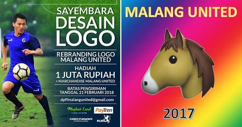 Sayembara Desain Logo Malang United Banjir Respon Satir Netizen