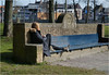 This Bench is all Mine (Hindrik S) Tags: bench bank sitting sitte zitten sitzen gril lady frou frau vrouw candid streetphoto street streetphotography strjitfotografy strjitte strasse straat straatfotografie liwwadden ljouwert leeuwarden prinsentuin prinsetún 2018 outdoor park garden sonyphotographing sony sonyalpha sony1650mmf28dtssm sal1650