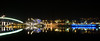 (Laetitia de Lyon) Tags: fujifilmxt10 lyon nuit night pont bridge raymondbarre musée muséedesconfluences museum rhône fleuve river
