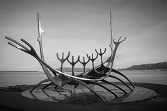 The Sun Voyager, Reykjavík Iceland (csthomasXSi) Tags: boat sunvoyager travel voyager statue ship sculpture viking reykjavik iceland