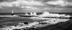 BWP_6111 (b_jw40) Tags: aberdeen beach harbour breakwater wave sea storm beast lighthouse water aberdeenshire