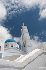 30 Pyrgos, Santorini/Thira (kana movana) Tags: santorini thira island pyrgos village greece greek traditional style architecture aegean aegeo mediterranean cyclades cycladic church orthodox white town blue europe travel vacation journey holiday townscape cityscape d90