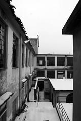 (thefrizz83) Tags: bianconero bw abbandono abandonment abandoned archeologiaindustriale decay decadenza destroy nikon urbex