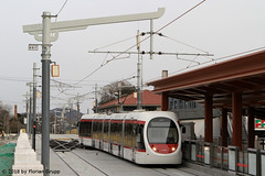 I_B_IMG_8481 (florian_grupp) Tags: asia china train railway railroad passenger electric beijing tram bagou fragranthills xijiao botanicalgardens siemens lrt haidian