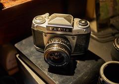 Exa 1a (Aerogami.com) Tags: konicahexanon35mmf28 konica hexanon lydith meyer optik gorlitz still life camera vintage