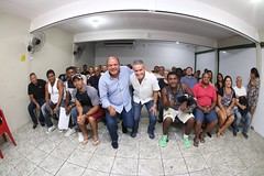 Me reuni com os meus grupos de Benfica, São Cristóvão e do deputado estadual Chiquinho da Mangueira. Quero agradecer ao deputado pelo apoio e dizer que juntos iremos lutar para continuar atendendo à população.
