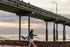 and She steals the show away.. (matthew:D) Tags: girl sandiego dance beach ocean sunnset pillar pier