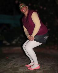Pink Ankle Strapped Shoes and White Tights (Christie Jane) Tags: cd transvestite trannie tranny tv transgender tgirl tgurl gurl sissy tg xdressresser xdressing crossdress xdress crossdresser crossdressing shoes balletflats flats courtshoes skimmers pumps anklestraps anklestrapflats halostrap halostrapflats anklestrapshoes halostrapshoes anklestrapballetflats halostrapballetflats patent patentshoes patentleather shinyshoes pinkshoes pinkflats pinkballetflats pink tights opaquetights pantyhose stockings hosiery hose skirt miniskirt denimskirt mask femalemask