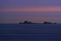 Farallon Islands Lighthouse (fksr) Tags: farallonislands pacificocean water sky horizon lighthouse evening night pointreyes marincounty california