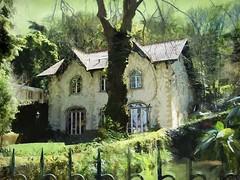 The House Of The Green Shadows (Daniel Arrhakis) Tags: sintra portugal thebiestercharmhouse