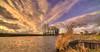 The Expanse of Entropy. (Alex-de-Haas) Tags: 11mm d850 dutch hdr holland irix nederland nederlands netherlands nikon noordholland noordhollandschkanaal schoorldam avond beautiful beauty canal cloud clouds evening hemel kanaal landscape landschap longexposure lucht mooi skies sky sundown sunset water winter wolk wolken zonsondergang