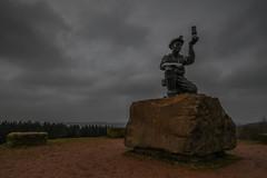 Memories of Mining (JoeSPhotographic) Tags: nottinghamshire mining memorial statue nikon d500 coalmining leefilters