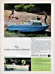 1961 Dorsett Marine Ad (aldenjewell) Tags: 1961 dorsett marine catalina cruiser boat el dorado runabout ad