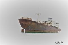 Geisterschiff (petra.foto busy busy busy) Tags: lanzarote schiff geisterschiff arrecife hafen lostplace alt verrostet fotopetra canon 5dmarkiii