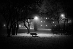 Can't sleep (Mattias Lindgren) Tags: cantsleep 50mmf18 nikond600 bw night sweden