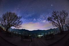 清境農場~銀河~ Milkyway (Shang-fu Dai) Tags: 台灣 taiwan 南投 nikon d800e sky landscape formosa galaxy 銀河 星空 milkyway 清境農場 夜景