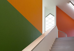 Stairwell (GER.LA - PHOTO WORKS) Tags: museum modern mmk frankfurt stairs architecture abstract hanshollein