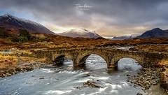 Sligachan-Bridge (deanallanphotography) Tags: water art cascade colors landscape mountain ngc natgeo nature photography scotland travel uk view