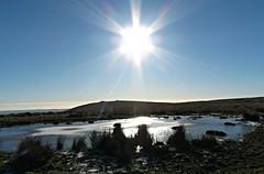 On Frozen Pond! ('cosmicgirl1960' NEW CANON CAMERA) Tags: snow ice winter dartmoor devon yabbadabbadoo