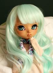 Haru - Available for adoption (Nina's Doll *MAKEUP COMMISSION CLOSED*) Tags: pullip pullipfc full custo custom pullipfullcustom leeke wig eyechips ooak makeup faceup sculpted sculpting doll japanese groove junplanning ninas dolls nina