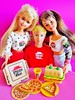 1994 Pizza Party Skipper & Friends (The Barbie Room) Tags: 1994 pizza party skipper doll 12920 kevin 12944 courtney 12943 1990s 90s barbie hut friends friend pizzeria