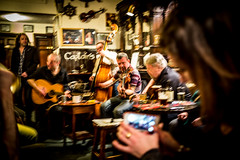 L1004098 (Bruno Meyer Photography) Tags: edinburgh scotland visitscotland ilovescotland music musicsession session pub publichouse play traditional people concert captainbar travel inside photography raw edit lightroom leica leicaimages leicacamera leicam240 leicam leicaworld perfectday live life livethemusic blurry unfocused focused booze beer