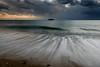 引き波ーback rush (kurumaebi) Tags: yamaguchi 秋穂 nikon d750 nature 自然 landscape 海 sea 夕焼け dusk 波 wave cloud 雲