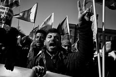 . (Thorsten Strasas) Tags: abdullahöcalan afrin aussenministerium berlin brandenburggate brandenburgertor bundestag demonstration efrin fahne fernsehturm flagge germanparliament kundgebung kurden kurdistan kurds ministryofforeignaffairs mitte pkk reichstag rojava rotesrathaus schwarzweiss syria syrien tuerkei turkey verbot ypg arrest attack ban berlin4afrin clash demo flag peace protest rally riot riotpolice smokebomb townhall tvtower war ypj germany de
