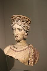 400 BC Juno - Falerii fragments - Rome Spring 2018 National Etruscan Museum at the Villa Julia. (Kevin J. Norman) Tags: italy rome etruscan villa julia giulia etrusca juliusiii falerii juno