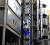 The Lloyd's Building (Dun.can) Tags: cityoflondon lloydsbuilding ec3 lloyds blue light lift elevator