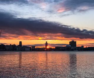 Penn's Landing Sunrise