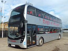 SN18KLM Doigs Enviro 400 MMC (Western SMT) Tags: alexander dennis doigs glasgow 18 plate bus
