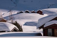 The Burden of the Beast (Lars Ørstavik) Tags: beastoftheeast burden snow winter chalet vallasetra mosetra valladalen mosdalen høgeheida landscape ørsta sunnmøre norway