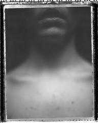 A. (denzzz) Tags: portrait polaroid polaroid55 negativescan blackwhite blackandwhite skancheli analogphotography filmphotography instantfilm expired wista45dx 4x5 largeformat