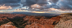 *Bryce Point @ morning panorama* (Albert Wirtz @ Landscape and Nature Photography) Tags: albertwirtz panorama panoramic brycecanyon nationalpark brycecanyonnp natur nature landscape canyon erosion schlucht paesaggi paysages campo usa unitedstates vereinigtestaaten america amerika nordamerika utah southutah hiking wandern trail nikon d810 goldenhour twilight clouds sky garfieldcounty redrockcountry brycepoint albertwirtzlandscapeandnaturephotography