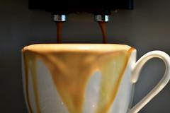 """imperfection"" .... at my  Monday's ..... 😉 (Pixelchen1) Tags: nikon5500 nikon105mmf28 coffee kaffee mypersonalmonday imperfection bildserienfunktion pictureserialfunction fernauslöser manuellerfocus crema"