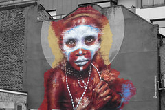 Papua New Guinea Child (andyrousephotography) Tags: manchester northernquarter streetart artist dalegrimshaw papuanewguineachild citiesofhopefestival may2016
