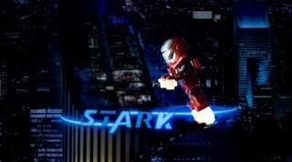 Iron man on patrol