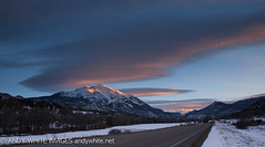 colorado20180216-10 (andywhiteimages) Tags: andy white andywhitenet andywhiteimages colorado sunset sunrise carbondale winter snow mountain peak