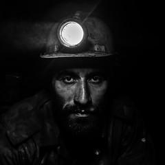 Miner 02 (Mehdi Shamaqdari) Tags: iran bw outdoor portrait documentary