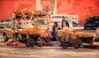 (124/18) Colores de mercadillo (Pablo Arias) Tags: pabloarias photoshop photomatix capturenxd marrakech marruecos raúlarias carrtas rueda gente edificio mercadillo color