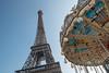 Eiffelturm (andreas.zachmann) Tags: paris10ancienquartierinvalides eiffelturm fra frankreich himmel karusell îledefrance paris16 stahlkonstruktion turm
