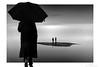 Godot (Mariano Belmar Torrecilla) Tags: bw blancoynegro conceptual murcia marmenor losurrutias paraguas umbrella