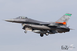 89-2109 United States Air Force General Dynamics F-16CM Fighting Falcon