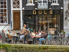 Dols, 10-3-18 (kees.stoof) Tags: amsterdam centrum dols terras keizersgracht