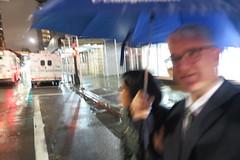 IMG_4164 (Mud Boy) Tags: nyc newyork brooklyn downtownbrooklyn joyce joyceshu clay clayhensley clayturnerhensley umbrella newyorkcity
