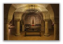 Augsburg - Dom (Robbi Metz) Tags: deutschland germany bayern bavaria augsburg dom church krypta sculptures indoor colors canoneos