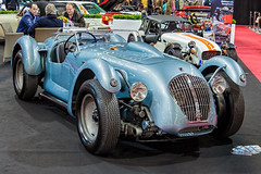 Healey Silverstone V8 Cunningham special 1949 fr3q (André Ritzinger) Tags: healey silverstone v8 cunningham special 1949 auto cars