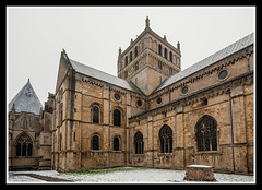 Central Tower (veggiesosage) Tags: southwell southwellminster nottinghamshire aficionados gx20 grade1listed cathedral minster norman sigma1020mmf456dc